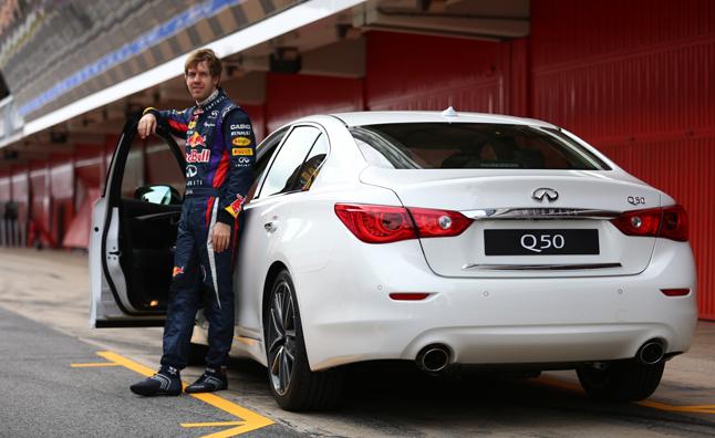 Sebastian Vettel Named Infiniti Director