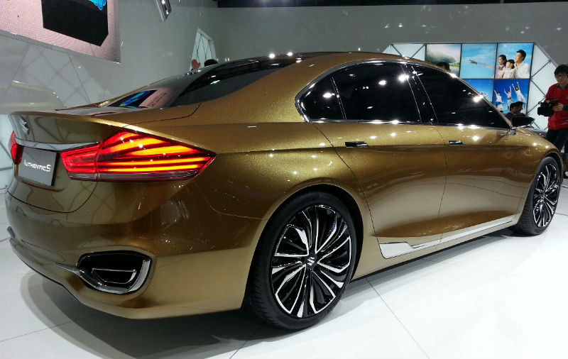 Shanghai Motor Show Back View