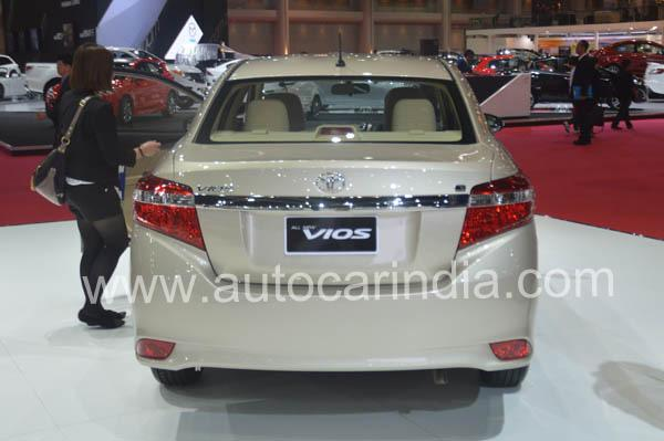 Toyota New Vios Back View