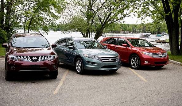 Toyota, Nissan and Honda