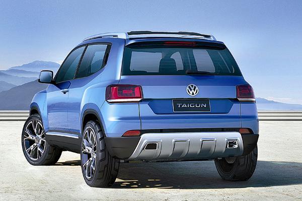 Volkswagen Taigun Back View
