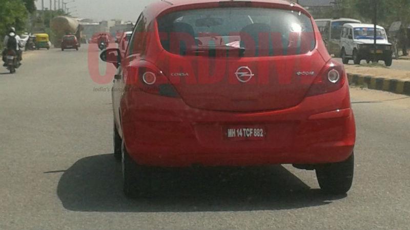 2013 Opel Corsa Ecoflex Seen Testing