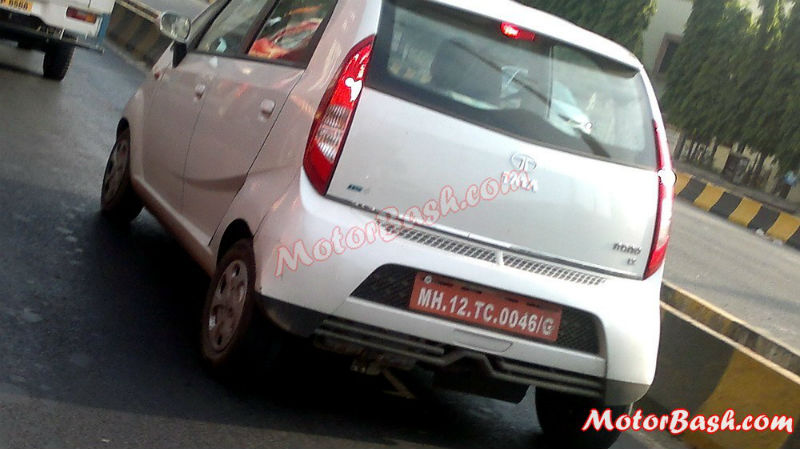 2013 Tata Nano Facelift Back View
