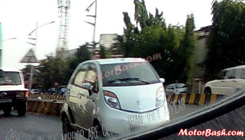 2013 Tata Nano Facelift Spotted