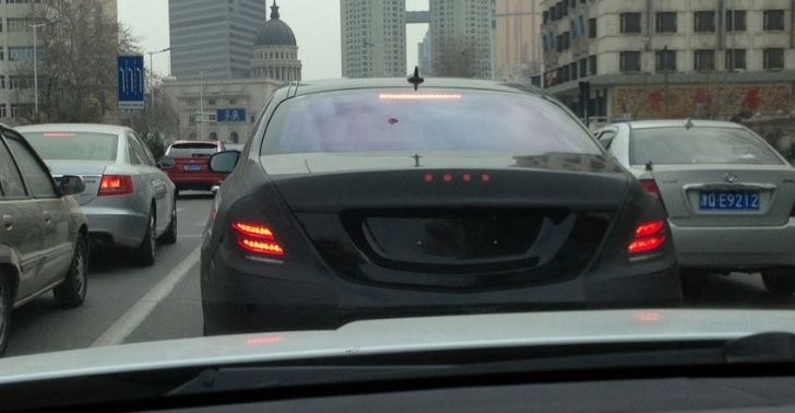 2014 Mercedes-Benz S Class spotted in China