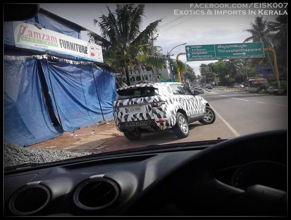 2015 Land Rover Freelander Spotted Testing