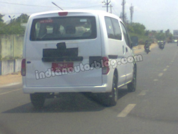 Ashok Leyland Stile Caught Testing Back View