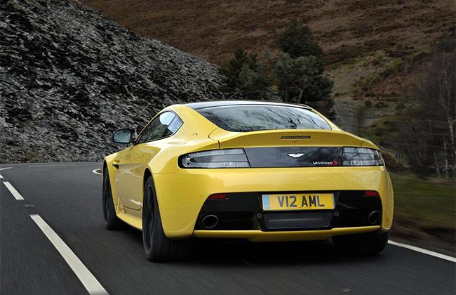Aston Martin V12 Vantage S Back View