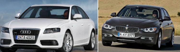 Audi zooms past BMW