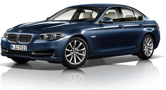 BMW reveals 5-series facelift