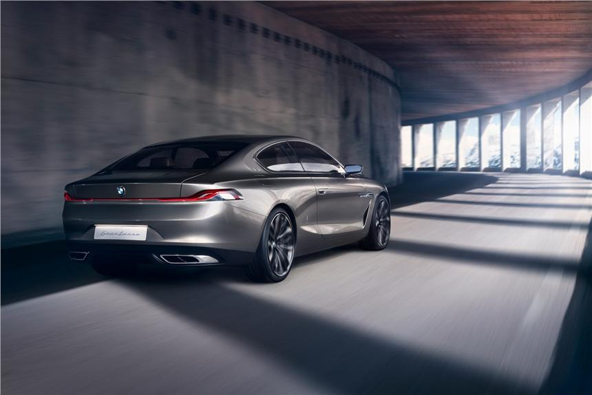 BMW unveil Gran Lusso Back View
