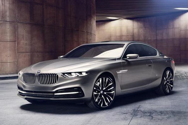 BMW unveil Gran Lusso coupe concept