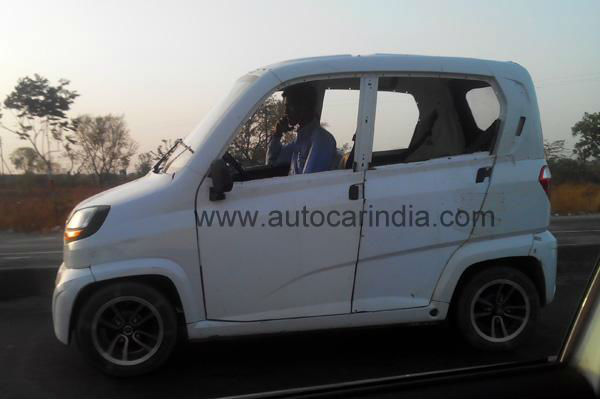 Bajaj RE60 Spotted Testing Once Again