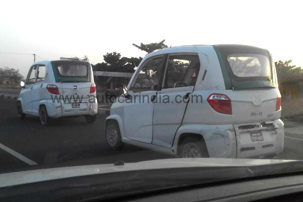 Bajaj RE60 spotted testing