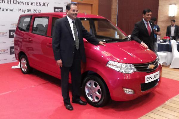 Chevrolet Launches Enjoy MPV