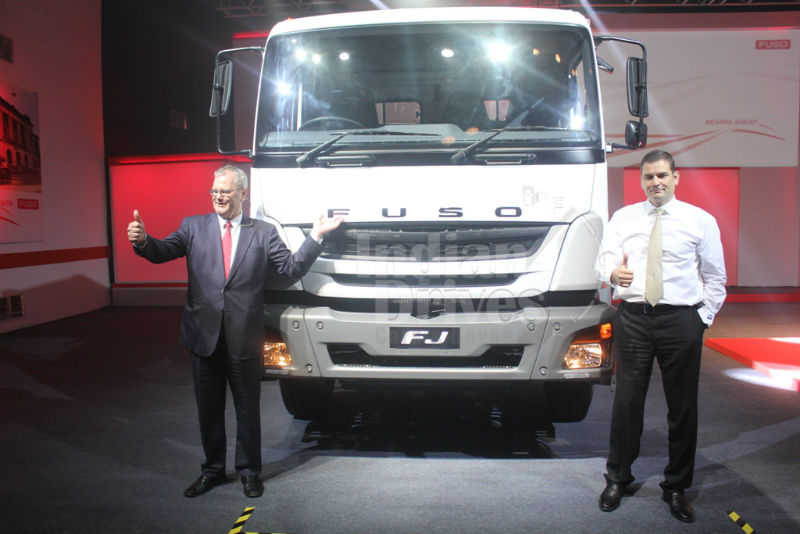 Daimler rolls out FUSO trucks in India