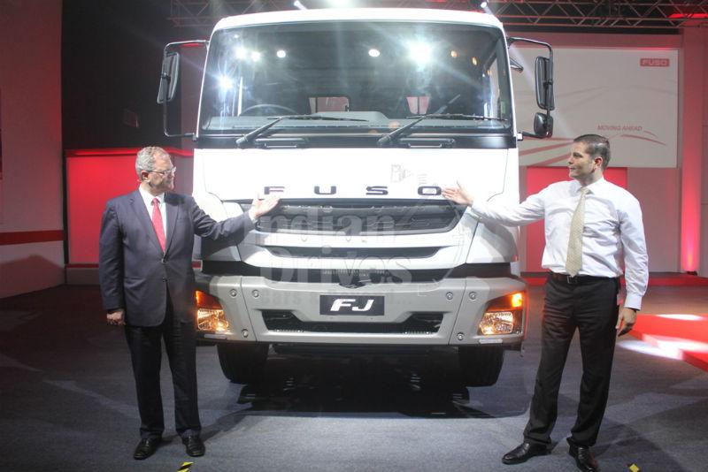 Daimler rolls out FUSO range of trucks