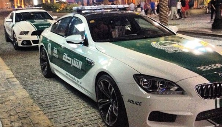 Dubai Police Now Gets BMW M6 and Ford Mustang