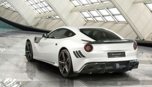 Ferrari F12 Berlinetta Back View