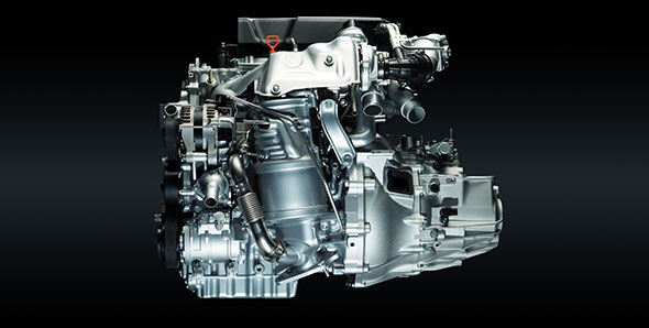 Honda 1.6l i-DTEC diesel engine