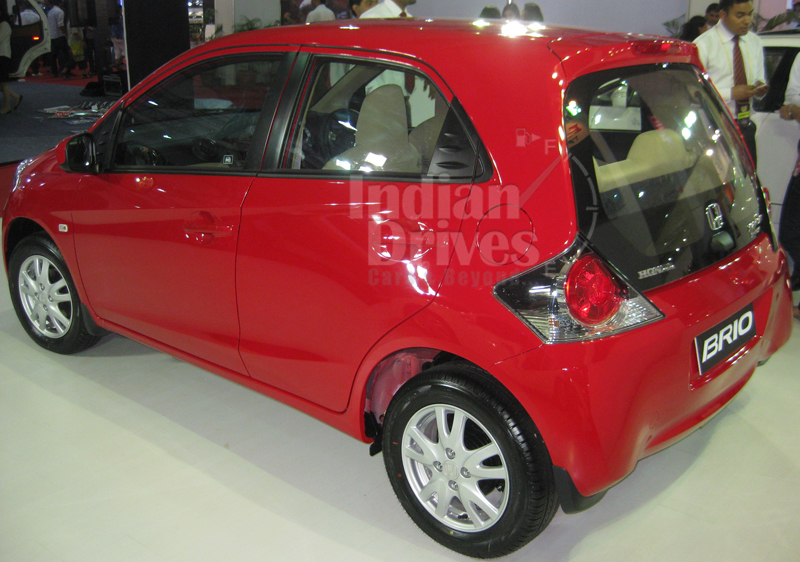 Honda Brio Back View