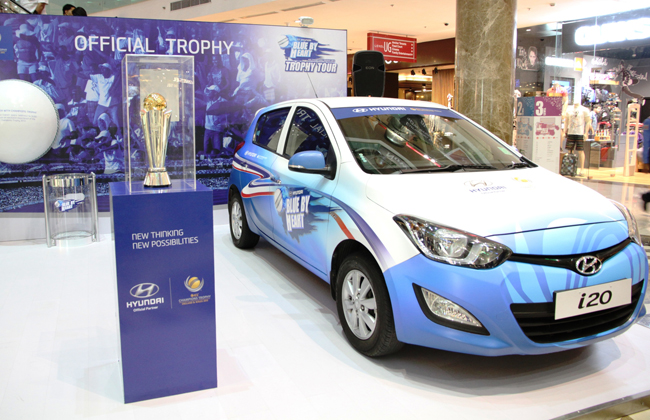 Hyundai India starts trophy tour for ICC Champions Trophy 2013