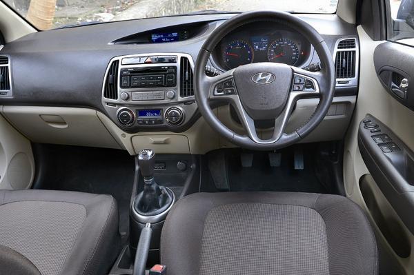 Hyundai i20 Interiors