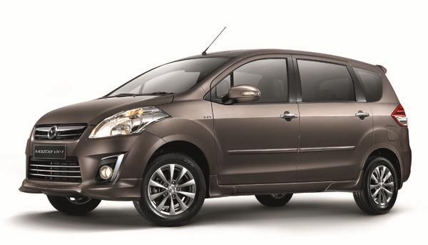 India made Maruti Suzuki Ertiga is in Indonesian market as Mazda VX1