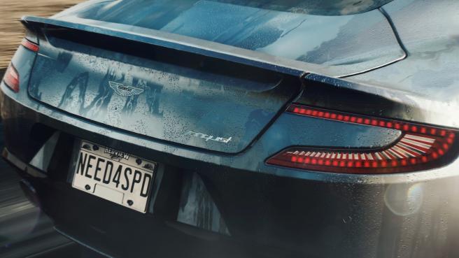 Koenigsegg Cop Car Back View