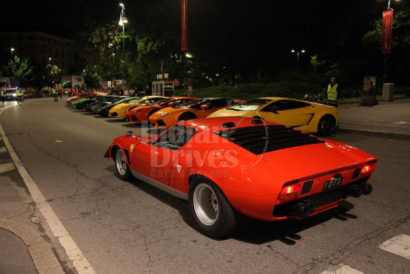 Lamborghini 50th anniversary tour 2013
