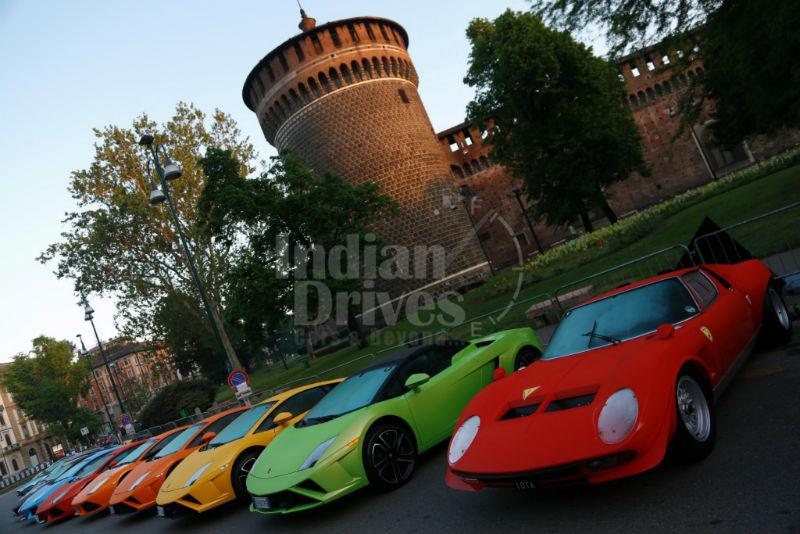 Lamborghini Grand Tour