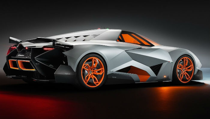Lamborghini reveals its Egoista concept