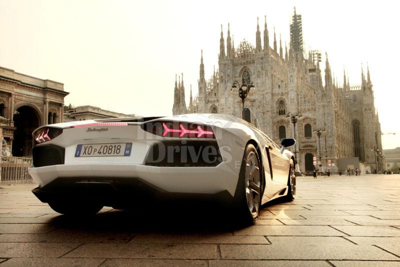 Lamborghini's 50th Anniversary Grand Tour