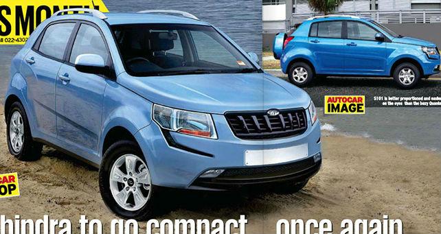 Mahindra compact SUV S101