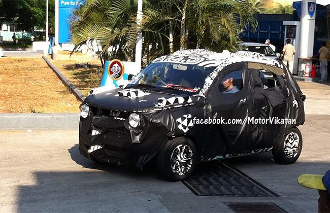 2013 Mahindra compact SUV S101