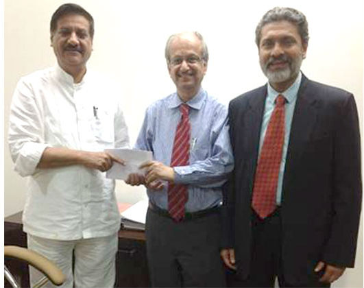Mahindra group donates Rs. 2 crore