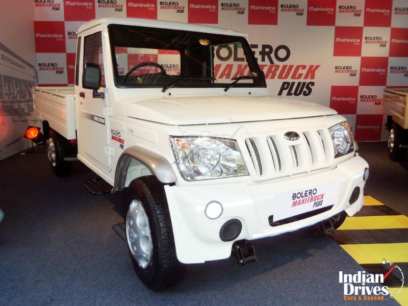 Mahindra Bolero Maxi Truck In India Archives