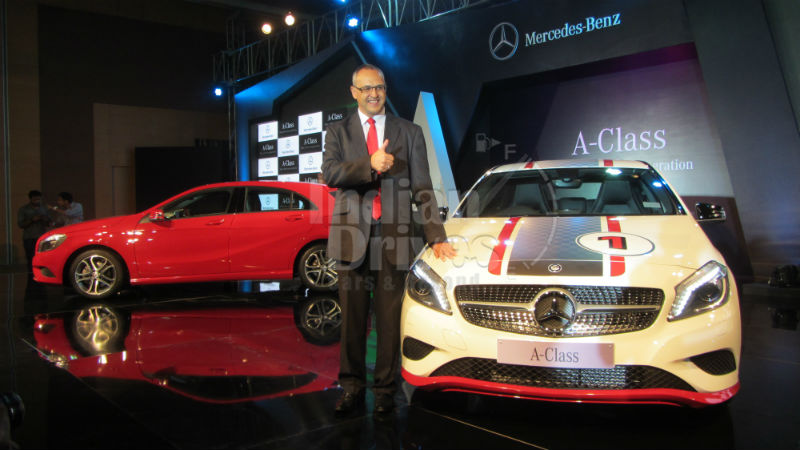 Mercedes Benz Launches A Class in India
