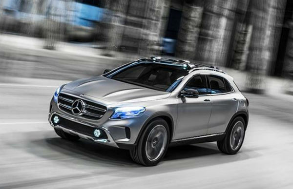 Mercedes Benz May Launch GLA