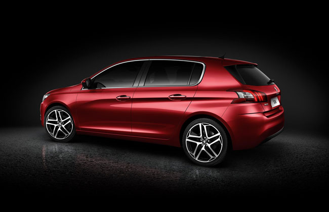 New 2014 Peugeot 308 Back View