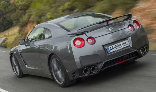 Nissan GT-R Back View
