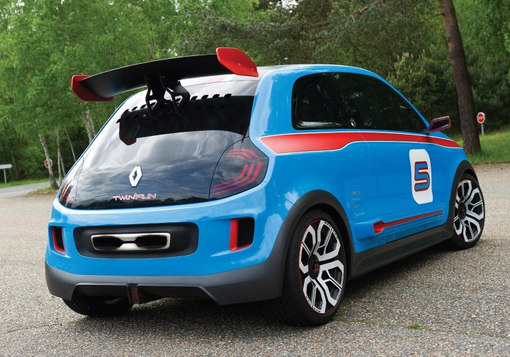 Renault Twin'Run Concept Back View
