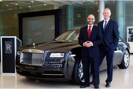 Rolls Royce Launches Wraith in Dubai