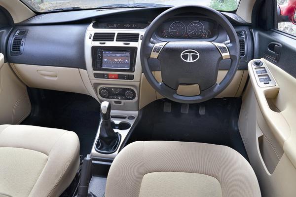 Tata Indica Vista D90 Interiors