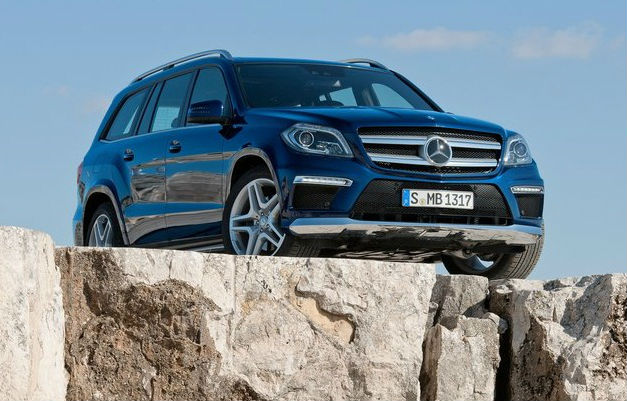 Updated Mercedes Benz GL Class
