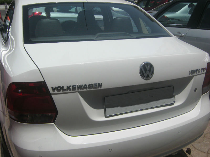 Used Volkswagen Vento Back View