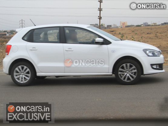 VW Polo GT TDI Spied Testing in India