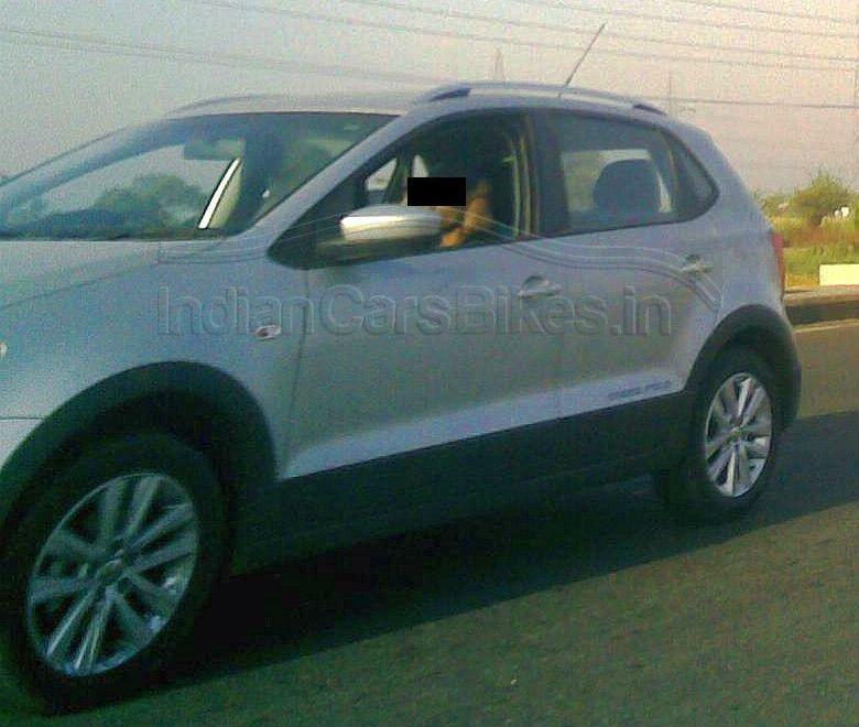 Volkswagen CrossPolo Caught Testing