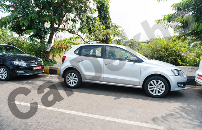 Volkswagen Polo GT TDI Spotted Testing
