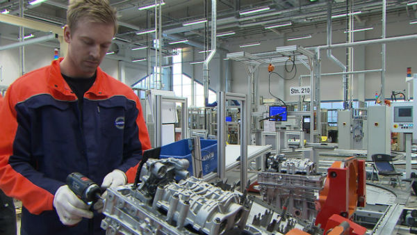 Volvo starts production of new engine series